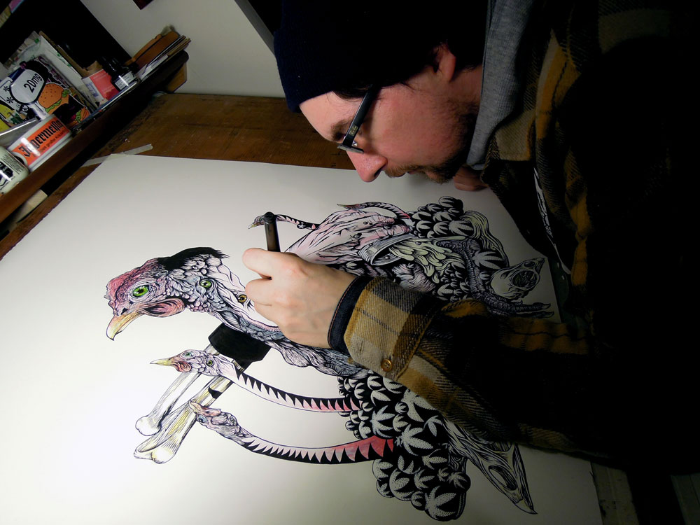 Ian Watson Illustrator from Cardiff
