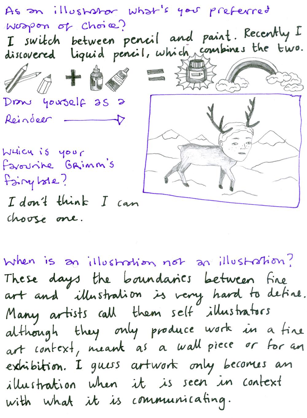 Emilie Aastrup Illustrator Interview